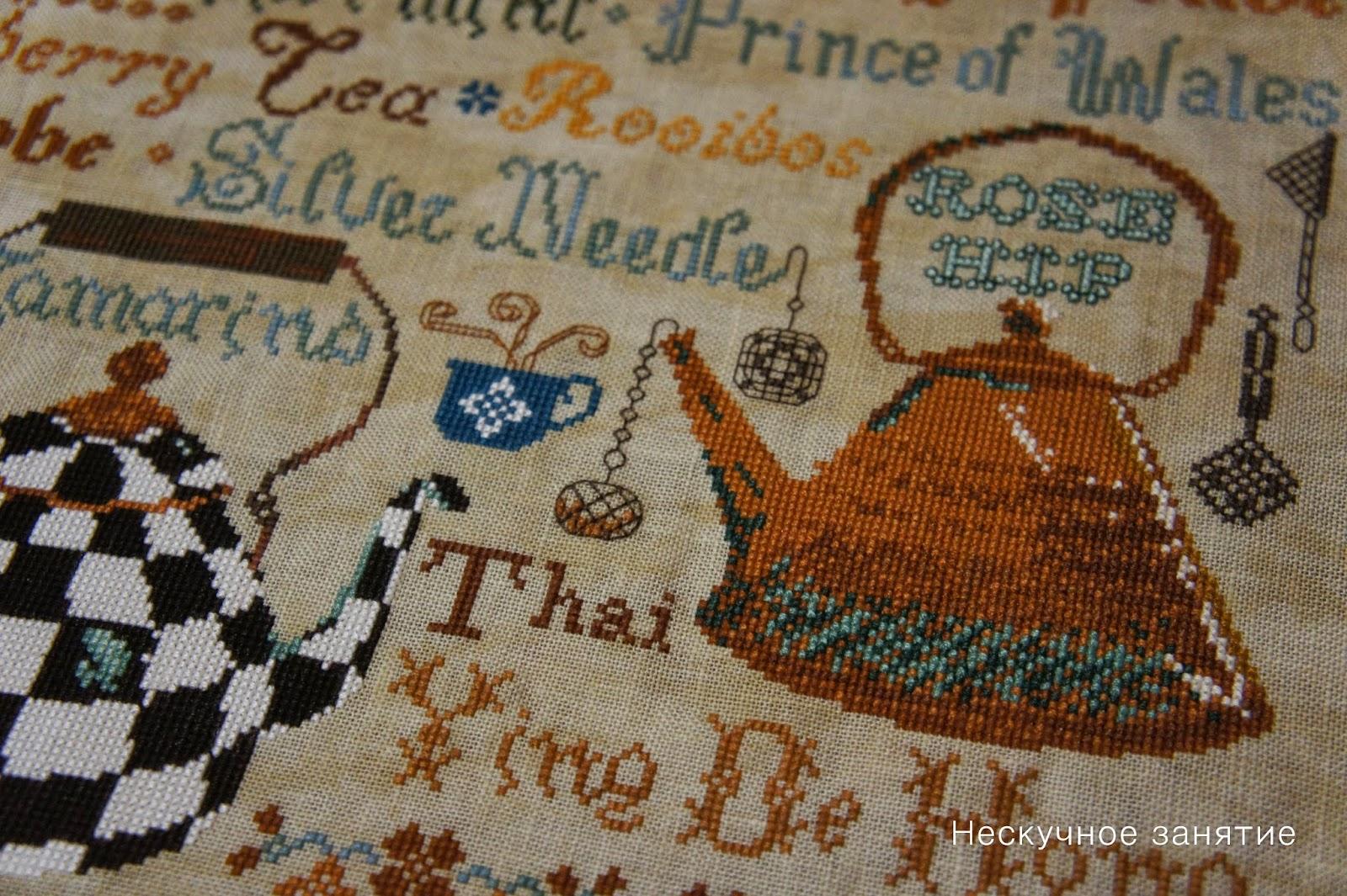 Tempting tangles схема вышивки
