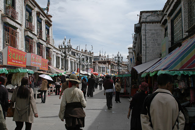 Lhasa downtown