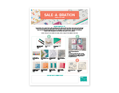 Sale-a-Bration 2018 - 3rd Offering