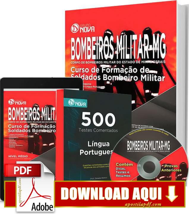 Apostila Soldado Bombeiros MG 2015 PDF Grátis Download
