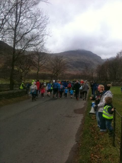 Langdale Valley fun run 2013