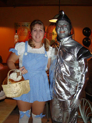Dorothy and Tin Man Wizard of Oz
