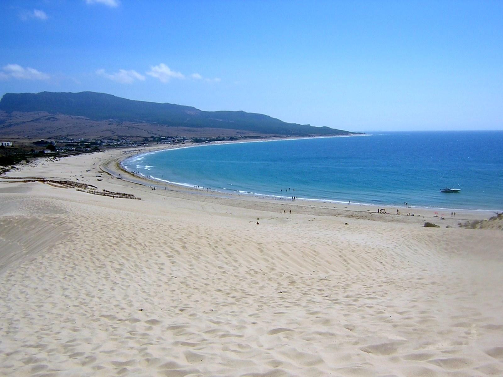 SPAIN NOW WALKING: Bologna beach (Cadiz - Spain)