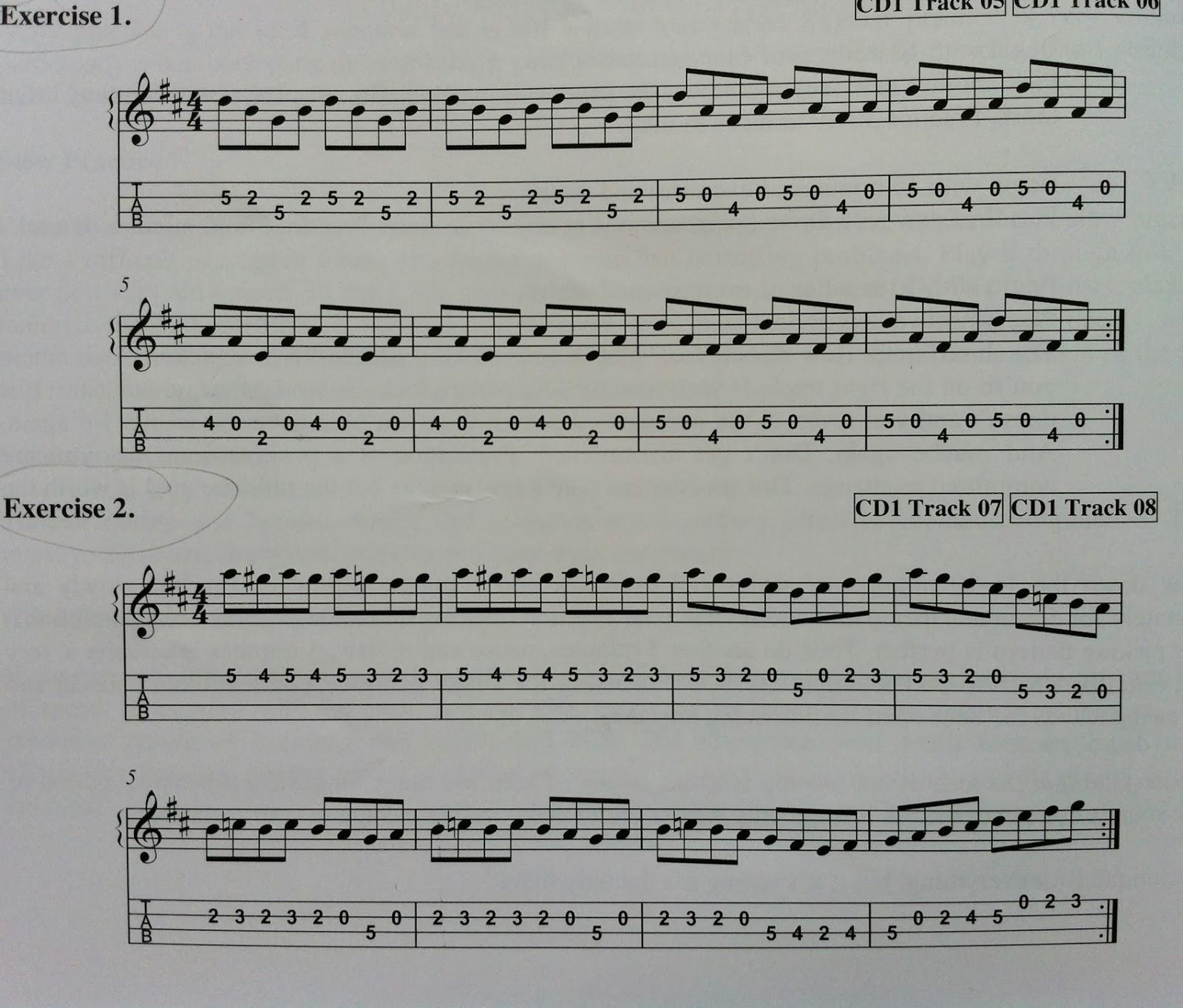 Six Water Grog: Plucking/Picking Exercises for Tenor Banjo/Mandolin