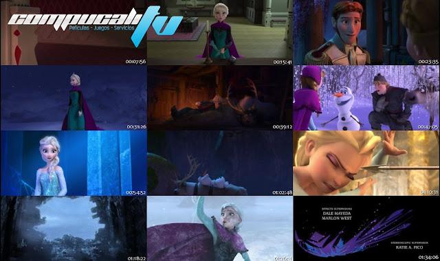 Frozen: El Reino del Hielo DVDRip Latino
