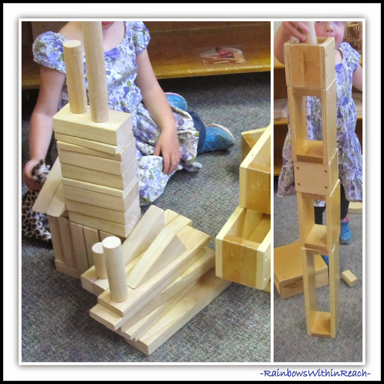 Building with Blocks: LOOSE Pieces in Preschool via PreK+K Sharing