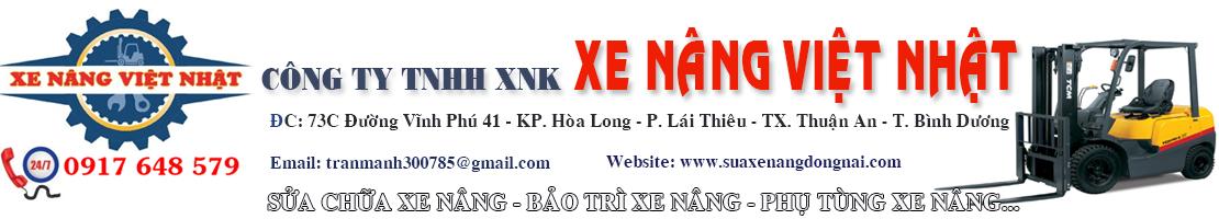 Dịch vụ bảo trì và sửa chữa xe nâng tại Đồng Nai. Hotline - 0917 648 579