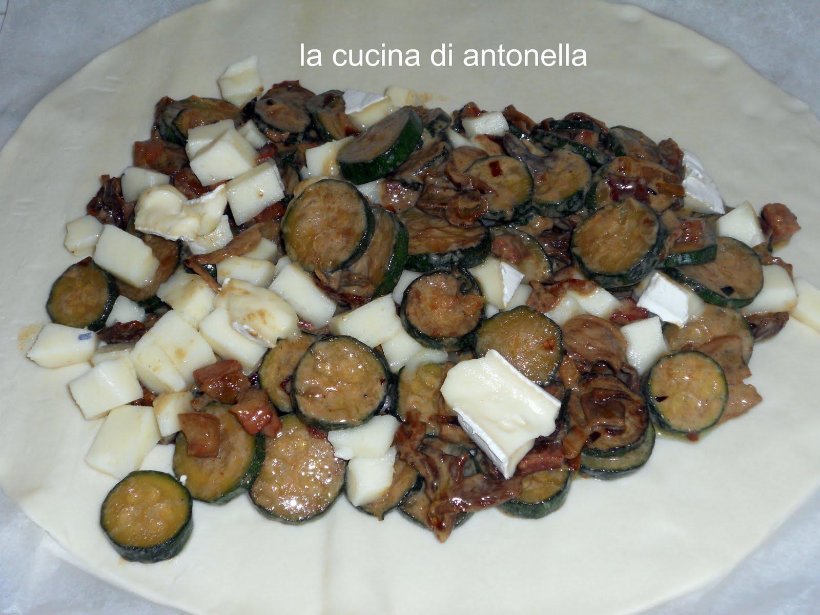 La cucina di antonella strudel salato trentino - La cucina di antonella ...
