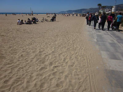 Promenade and beach of Castelldefels