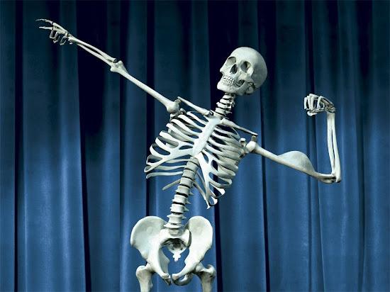 Que significa soñar con esqueleto