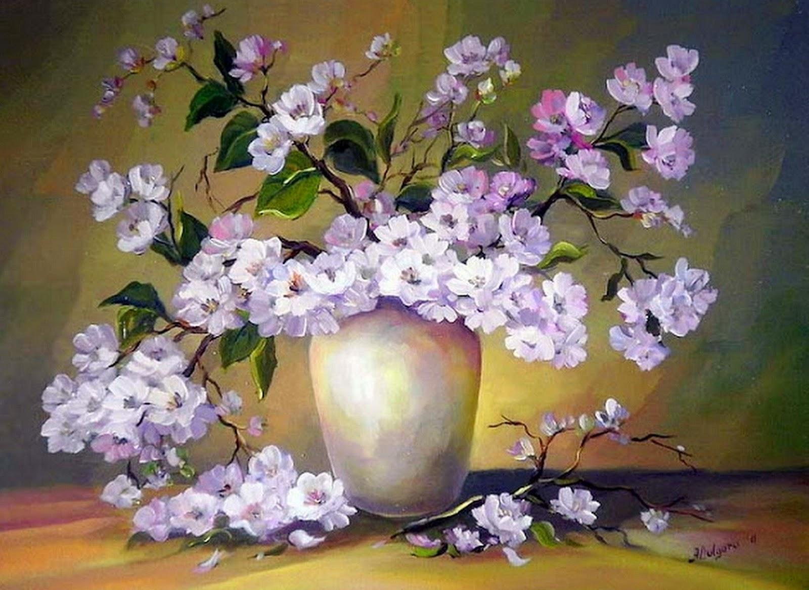 Imagenes De Pinturas Al Oleo De Flores - pinturas de rosas y flores al oleo arte y pintura, abstractos