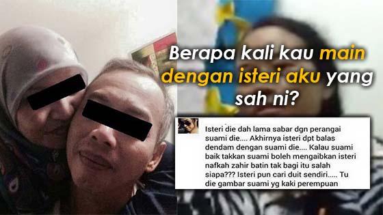 Suami sebar kecurangan isteri di Facebook rupanya ada skandal