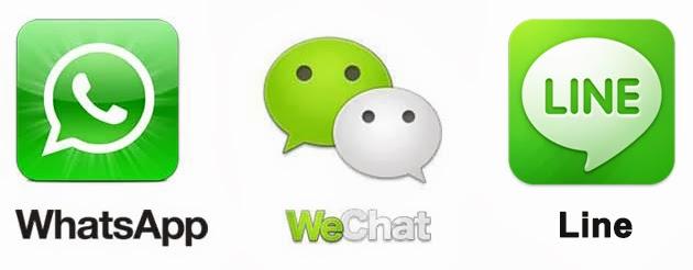 WhatsApp/WeChat/LINE