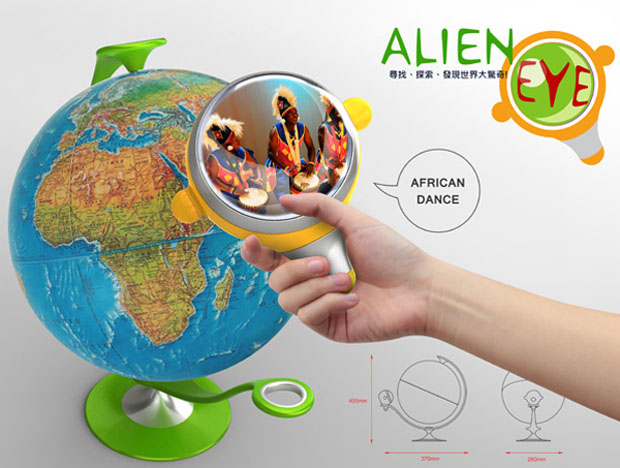 Alien Eye Learning Tool 1