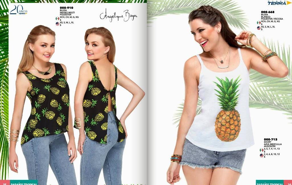 Catalogo mundo terra 2015 ropa de moda