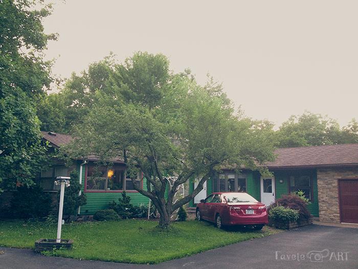 Дом, который мы забронировали на Airbnb