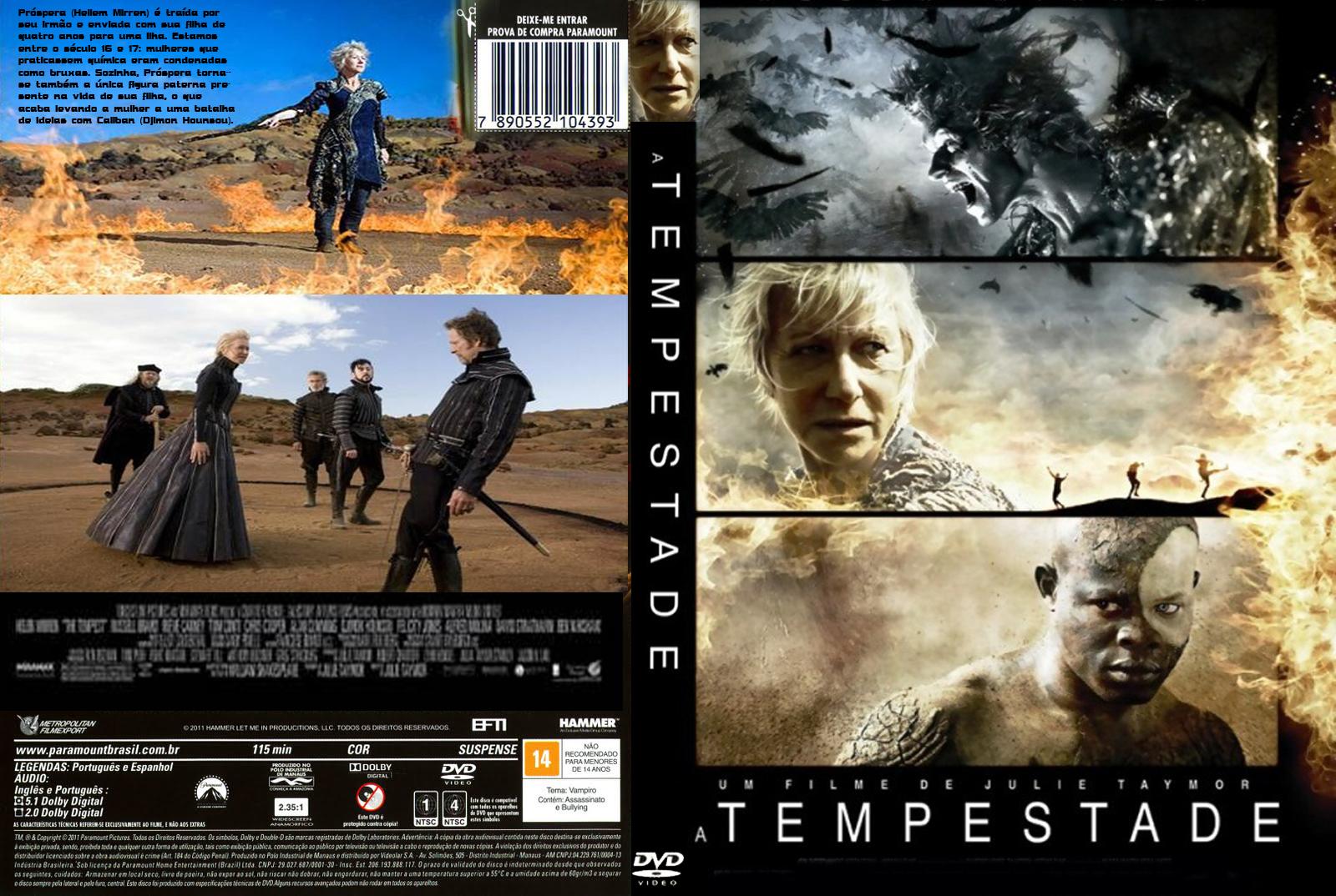BAIXAR FILME A TEMPESTADE DUBLADO LANÇAMENTO 2011+ capa do