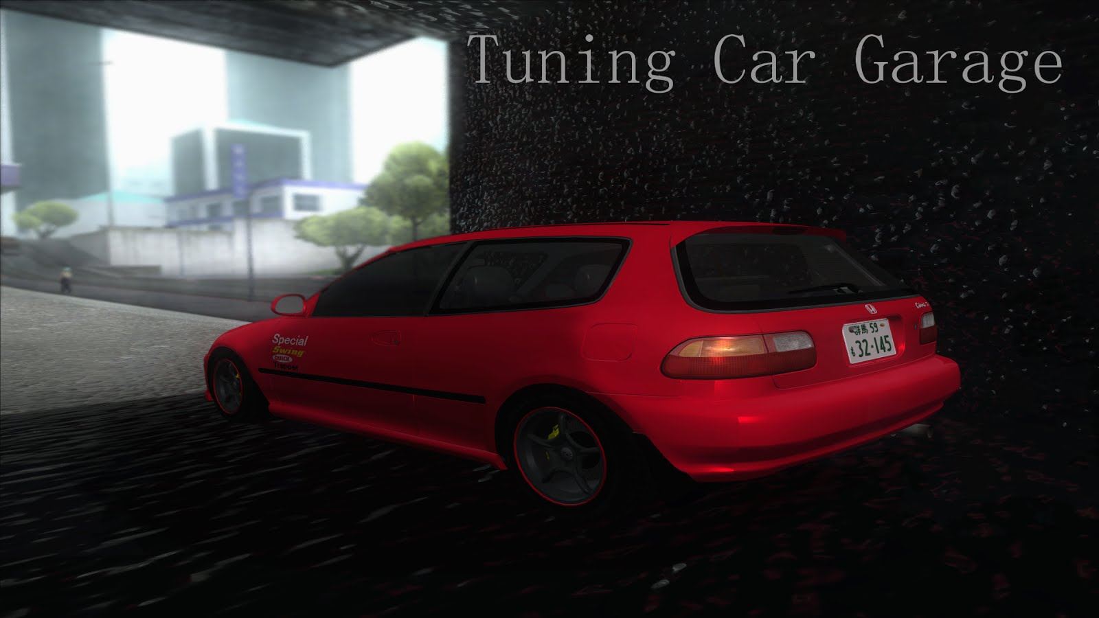 Tuning Car Garage