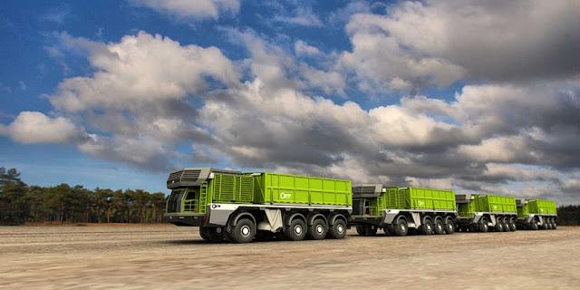 trenes de carretera autocargantes el camion que se carga solo 5