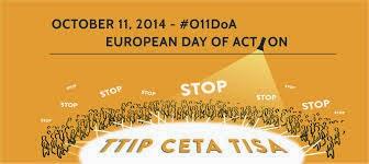 STOP TTIP CETA- Σάββατο 11/10