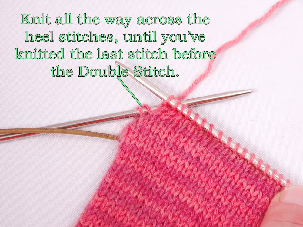 Knitting Last Stitch Too Loose : Heidi Bears: Two-at-time-socks on a Magic Loop: The Heel, Part 1