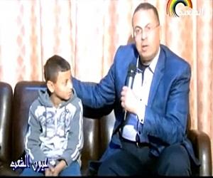 برنامج عيون الشعب حلقة الجمعة 8-9-2017 مع حنفى السيد و حلقة عن طفل بـ 100 راجل - الحلقة الكاملة