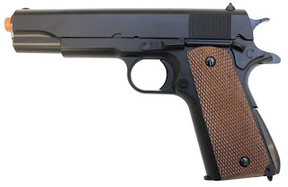 AP UA 961B AirSplats Memorial Day Promo: Military Style 1911 Airsoft Guns