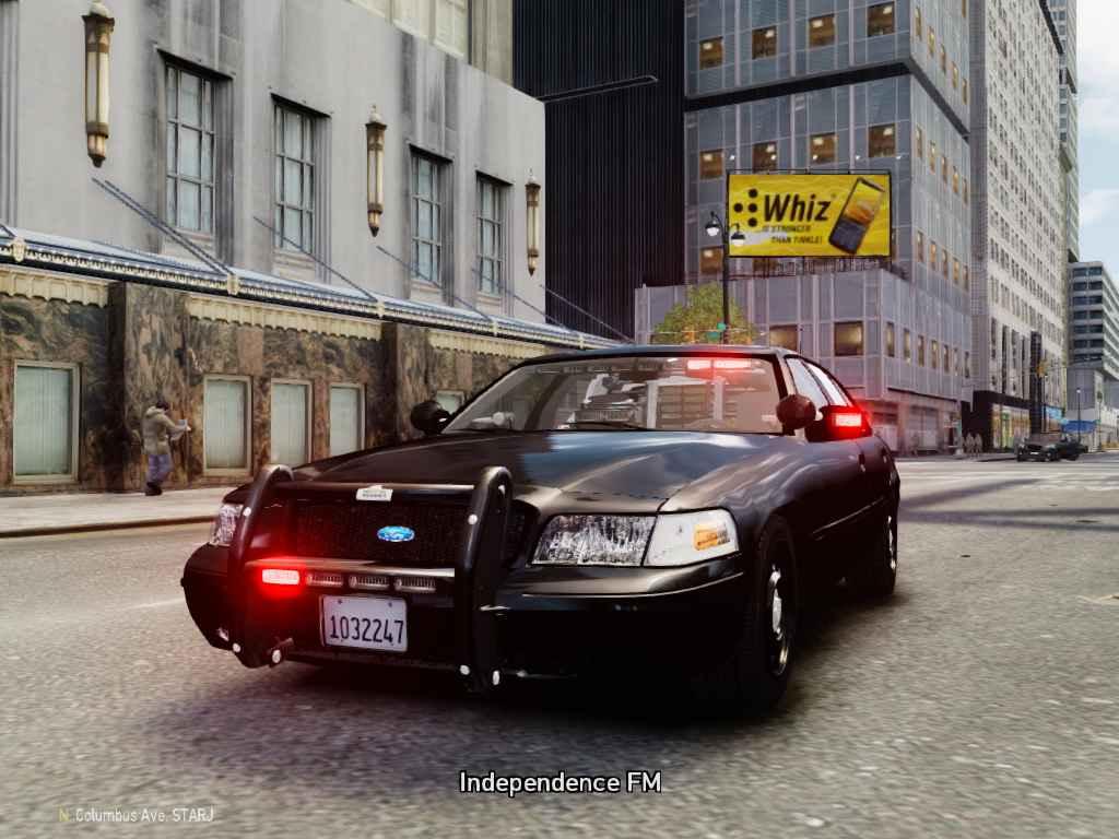 FBI Car GTA 4 Police Mods