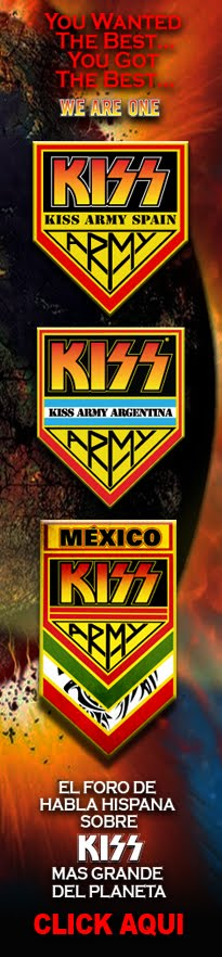 FORO DE KISS ARMY SPAIN, KISS ARMY MEXICO  y KISS ARMY ARGENTINA