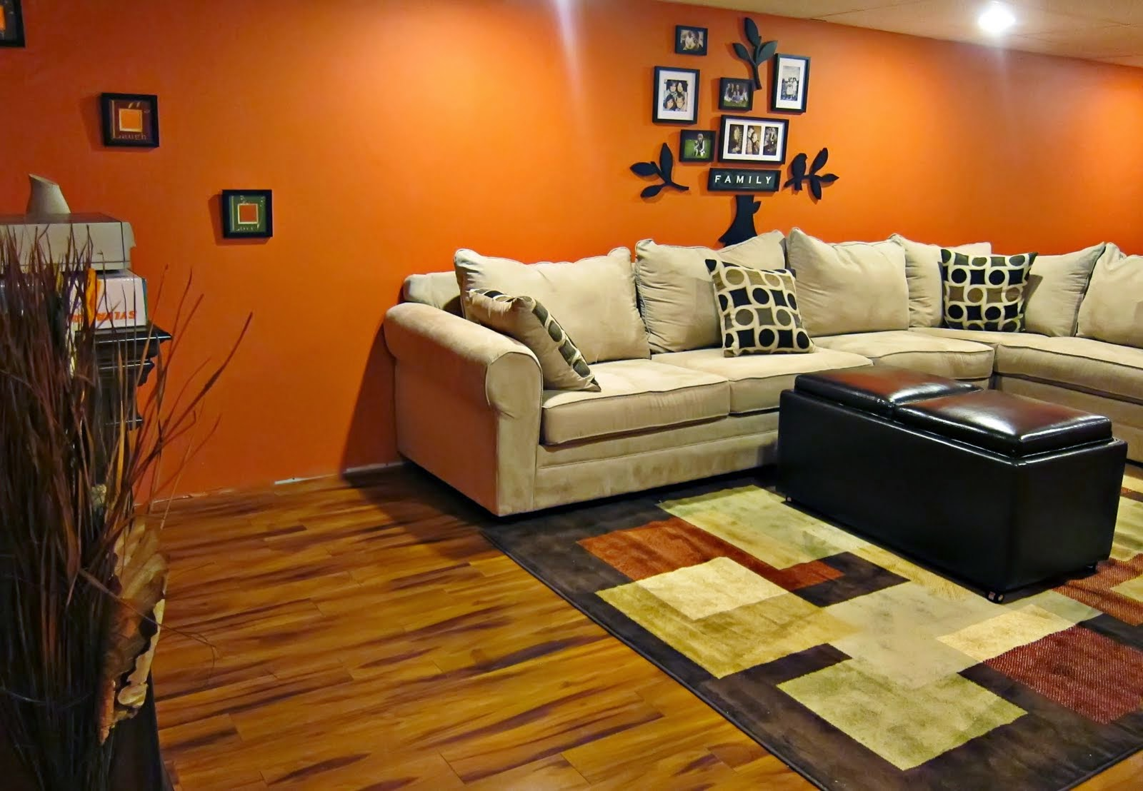 basement decorating ideas images