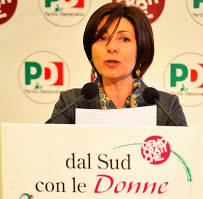 Politica femminile italia roberta agostini coordinatrice for Parlamentari donne del pd