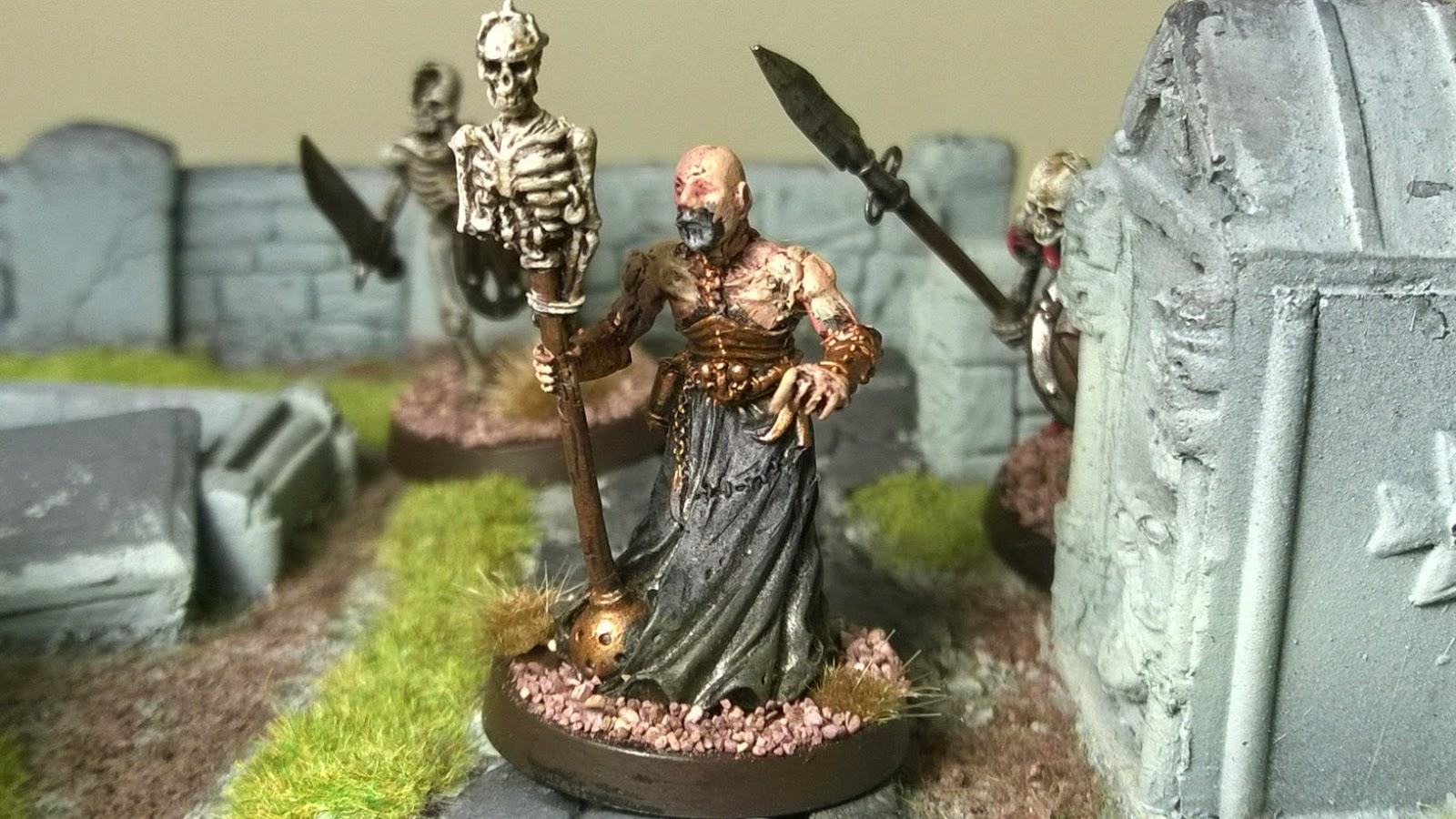 Heresy miniatures dark brethren tunnel priest necromancer