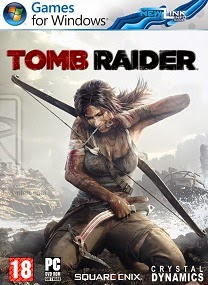 Tomb Raider PC Cover Tomb Raider Black Box