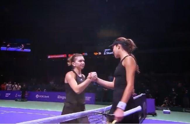 Tenis minunat! Multumim Simo si Ana!