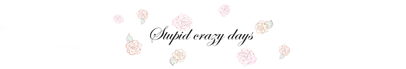 Stupid crazy days