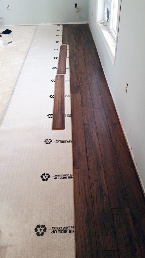 Iheart organizing do it yourself floating laminate floor for Do it yourself flooring