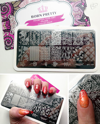 BornPretty Store Stamping Image Plate BPL-026 Review