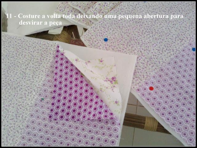 Jogo-americano em patchwork com PAP (DIY)