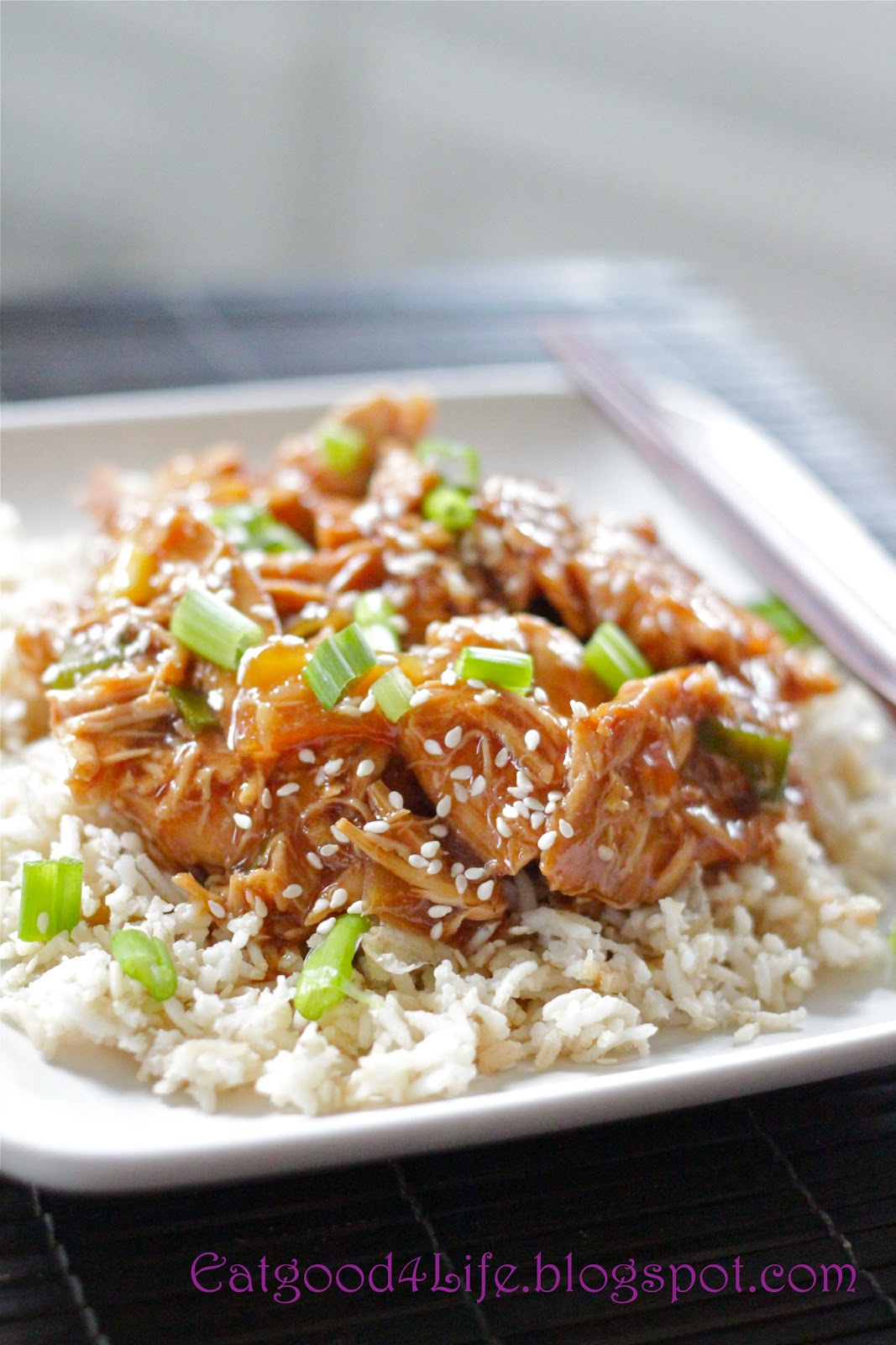 This crock pot honey sesame chicken recipe is simply out of this world ...