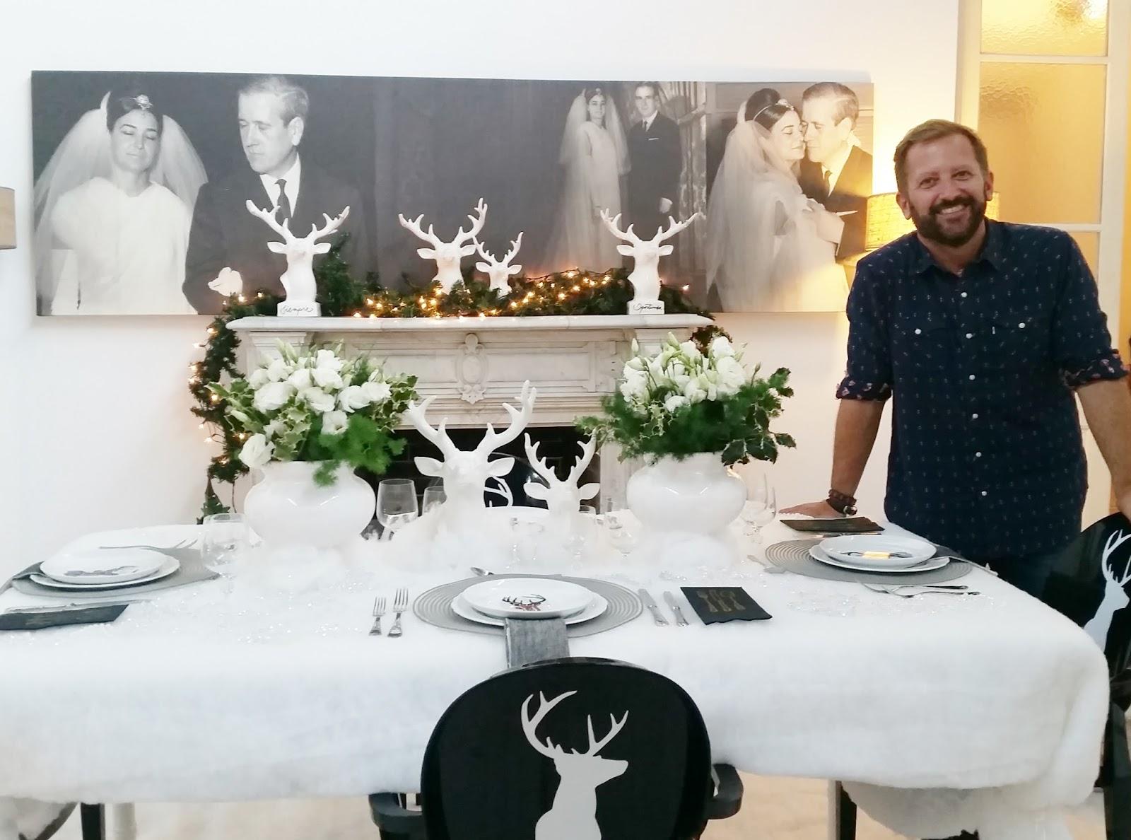Lindisimas mesas navide as por ramiro arzuaga jana for Imagenes de mesas navidenas