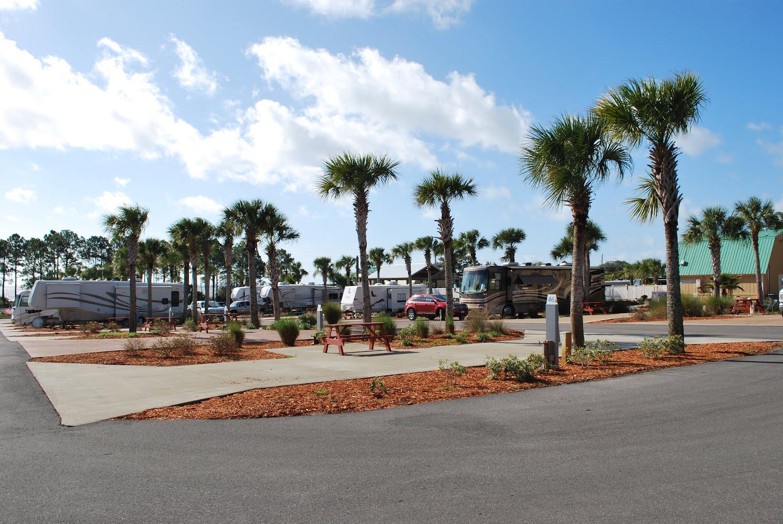 Blue Sky Ahead Carrebelle Beach Rv Resort Carrabelle Fl
