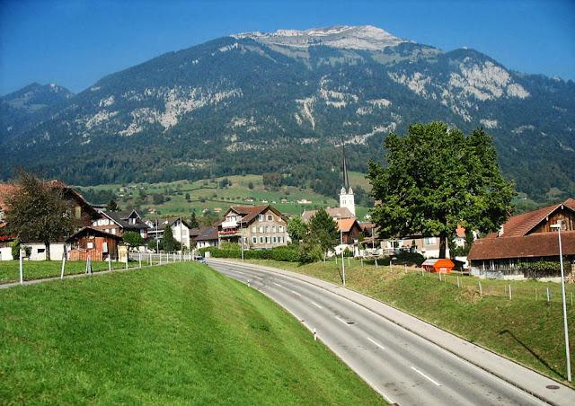 pretty Swiss village