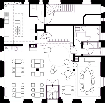 Designing A Restaurant Floor Plan | Home Goods Kitchen