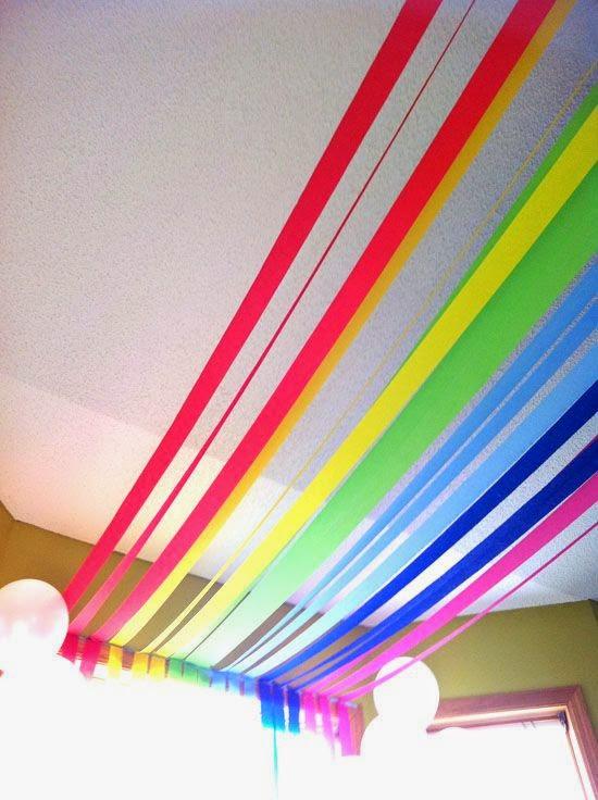 すべての折り紙 折り紙 誕生日 簡単 : LiliBaby: Ideas para Decoracion Fiesta de ...
