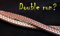 線材使用Double run的原因?