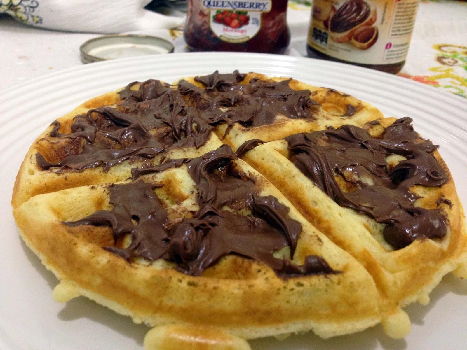 A Máquina de waffle redonda e a receita do waffle perfeito