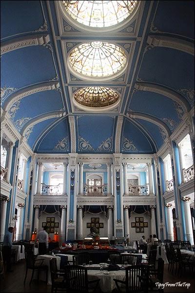 Blue Ballroom, Lalitha Mahal Palace