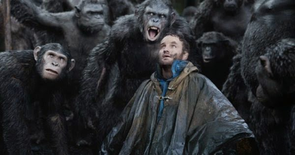 Jason Clarke captured in Dawn of the Planet of the Apes