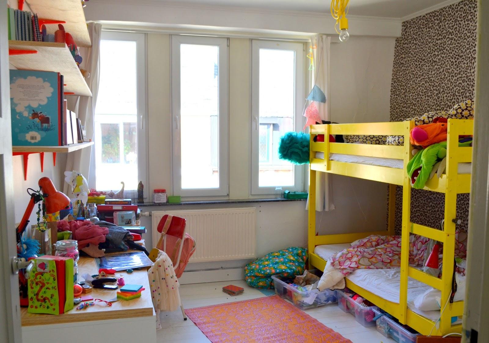 Mama van vijf: ruim je kamer op!