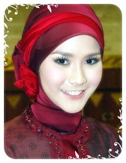 model jilbab untuk kebaya terbaru